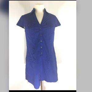 Blue express top/ tunic